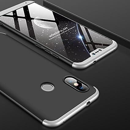 lowest price a93e6 f4a6e Amazon.com: HuaXin Xiaomi mi A2 Lite Case,Fashion Ultra-Thin 3 in 1 ...