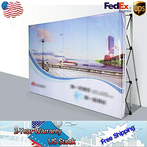 Display Backdrop Stand, 88FT Trade Show Booth Pop Up Backdrop Wall for Hotel, Shopping malls, Weddings by GDAE10 (Image #4)