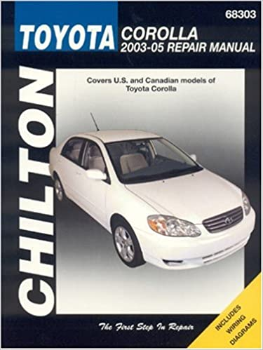 manual proprietario toyota corolla 2003