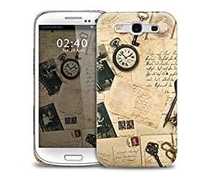 Vintage Letter Samsung Galaxy S3 GS3 protective phone case