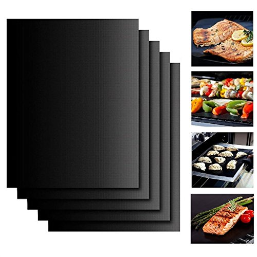 Fantastic Deal! Deppon Non Stick Grill Mats—BBQ Grilling Baking Mat for Gas Charcoal, Electric Gri...