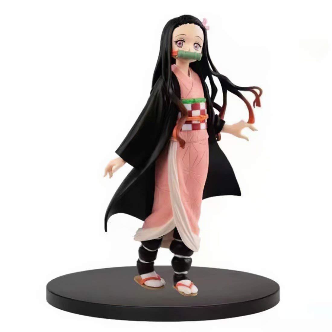 """Demon Slayer Kimetsu no Yaiba Kamado Nezuko 5.5/"""" Action PVC Figure Toy Box Gift"""