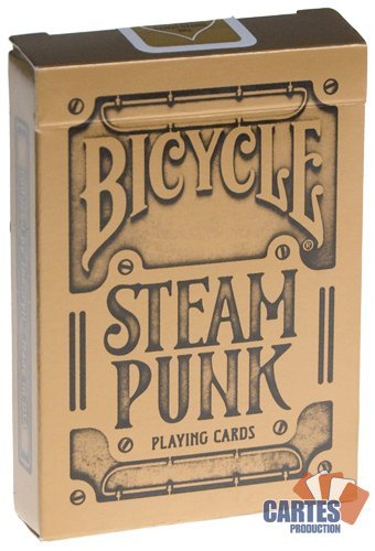 Steam Punk Bicycle Playing Cards 3