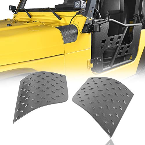 u-Box Black Cowl Side Body Armor Corner Guard (Jeep Wrangler TJ 1997-2006)