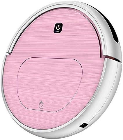 LQH Mop Automatico spazzare aspirapolvere spazzatrice Ricaricabile aspirapolvere Robot Domestici - Oro Rosa, a3, Stati Uniti (Color : Champagne Golda1a72, Size : A65)