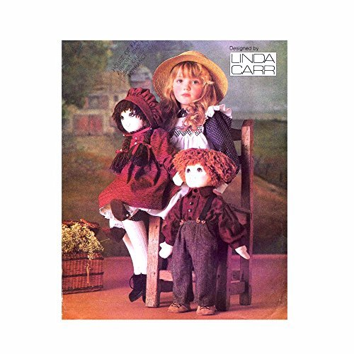 Stuffed Doll and Clothes Vogue 9699 Crafts Vintage Sewing Pattern