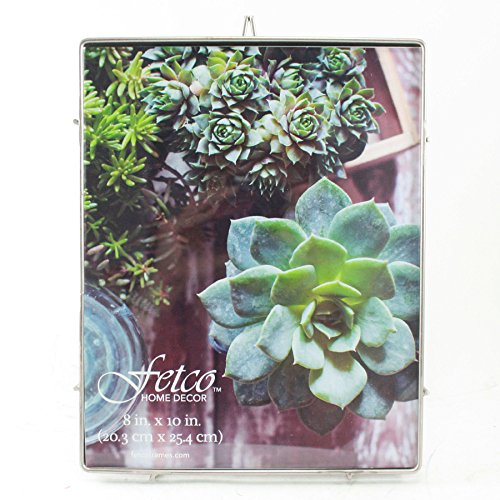 Fetco Franco 8x10 Press Picture Frame, Pewter