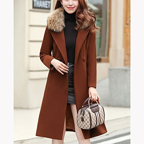 of 4 coat colors Ladies available the A QFFL section optional jacket waist jacket Long Size 0IdqxHx8