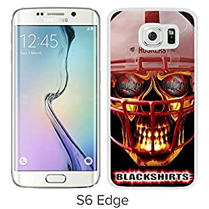 Beautiful Designed Case With Ncaa Big Ten Conference Football Nebraska Cornhuskers 14 White For Samsung Galaxy S6 Edge Phone Case