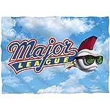 2Bhip Major League Sports Comedy Movie Baseball League Logo Front Print Pillow Case