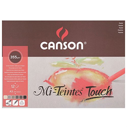Mi-Teintes Touch Pad A3 355gsm, used for sale  Delivered anywhere in Canada