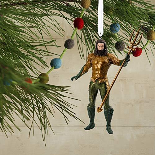 Hallmark Christmas Ornament, Aquaman Resin Figure