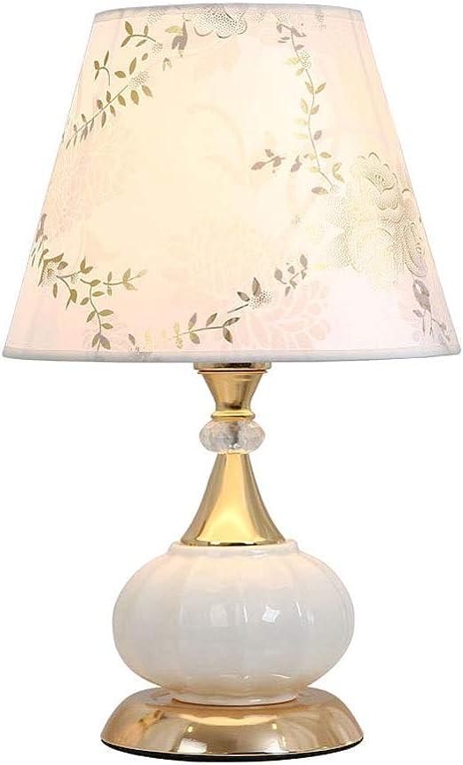 Lámparas de mesa Lámpara de mesa de noche Tela de impresión ...