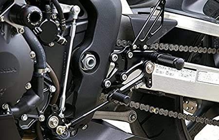 FXCNC Racing CBR1000RR Billet Motorcycle Rearset Foot Pegs Rear Set Footrests Fully Adjustable Foot Boards Fit For Honda CBR1000 RR 2004 2005 2006 2007