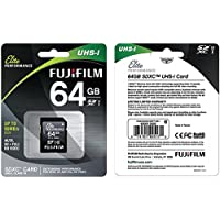 Fujifilm Elite Performance - Flash Memory Card - 64 GB - SDXC UHS-I, Black (600013605)