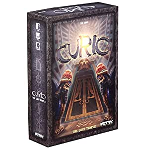 Wizkids Current Edition Curio The Lost Temple Board Game
