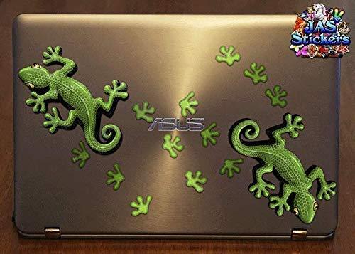 JAS Stickers/® Rose Gecko grande autocollant de l/ézard Dr/ôle animal de voiture pour les camions de caravanes ST00032PK/_3