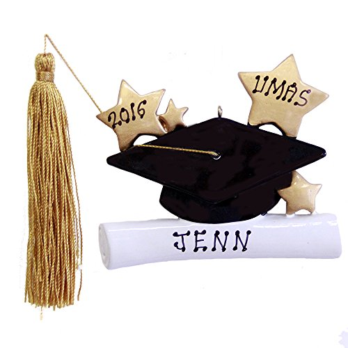 Graduation Cap Personalized New Graduate Ornament