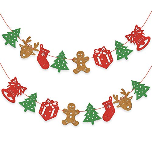 Christmas Felt Fabric Door Wall Hanging Decorations for sale  Delivered anywhere in USA
