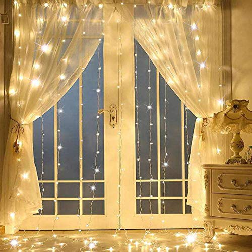 SUPERNIGHT Curtain Twinkle Christmas Decorations product image