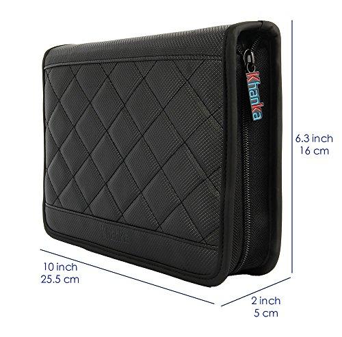 Khanka Universal Electronics Accessories Carrying Travel Organizer / Hard Drive Case Bag / Power Bank / Memory Card / Cable organizer (Medium) by Khanka (Image #5)