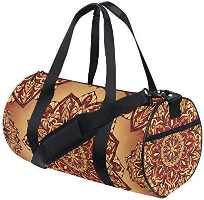 ボストンバッグ 曼荼羅 ジムバッグ ガーメントバッグ メンズ 大容量 防水 バッグ ビジネス コンパクト スーツバッグ ダッフルバッグ 出張 旅行 キャリーオンバッグ 2WAY 男女兼用
