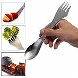 disney coffe maker - YJYdada 1 Pc Fork Spoon Spork Cutlery Utensil Combo Kitchen Outdoor Picn