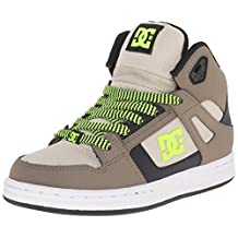 DC Rebound SE Hightop Skate Shoe (Little Kid/Big Kid)