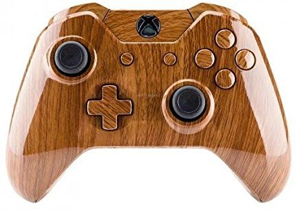 ModFreakz Shell/Button Kit Hydro Dipped Wood Grain For Xbox One Model 1697 Controllers