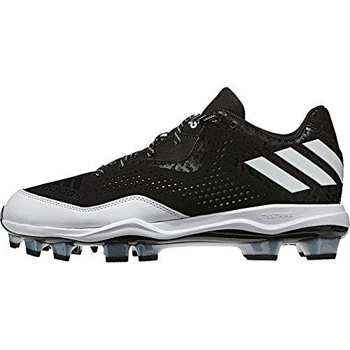 Zapatillas De Beisbol Mujer Adidas Poweralley 4 W Tpu Negro-blanco