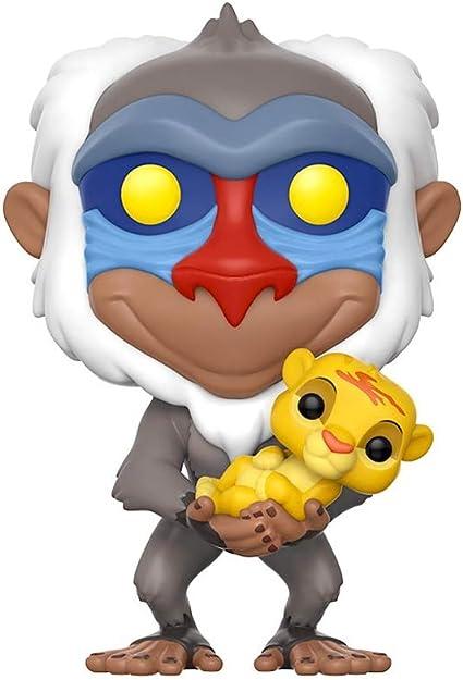 El Rey León- Figura de Vinilo Rafiki, colección Disney (Funko ...