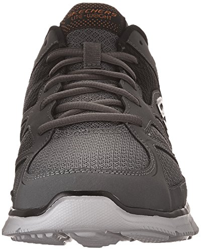 Grau Satisfaction Schwarz 58350 Sneaker bbk Herren Orange Skechers 4wPq6a