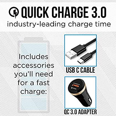 Ultimate Wireless Car Charger - Quick Charge 3.0 and Qi Wireless Charging Compatible - Works with iPhone, Samsung, Google and More - Includes QC 3.0 Adapter and Multiple Mounting Options: Home Audio & Theater