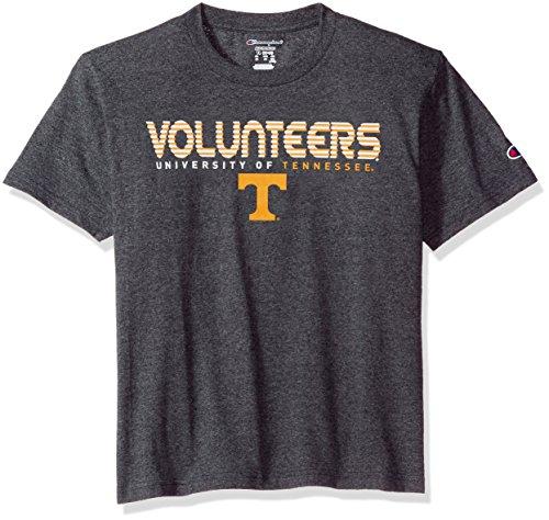 Champion NCAA Youth Boy's Granite Short Sleeve Jersey Shirt Tennessee Volunteers Medium ()