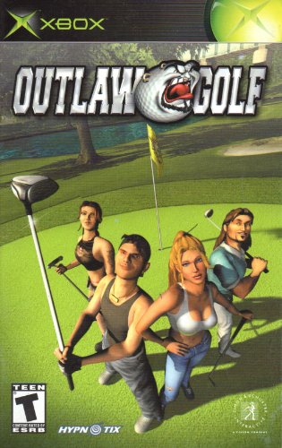 Outlaw Golf XBox Instruction Booklet (Microsoft XBox Manual Only) (Microsoft XBox Manual)
