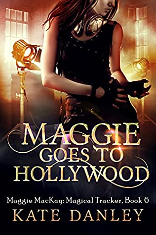 book cover of Maggie Goes to Hollywood
