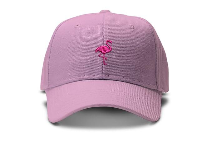 Amazon.com  Hot Pink Tropical Flamingo Bird Silhouette Low Profile ... 50ec0de7f64