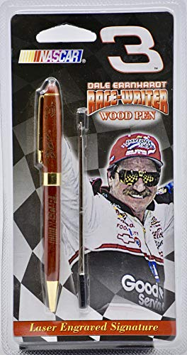 Sports Quest Inc/NASCAR - #3 Dale Earnhardt Race-Writer Wood Pen - Laser Engraved Signature - Collectible - Rare - New ()