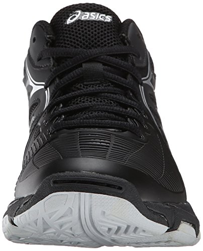 ASICS Women's Gel Netburner Ballistic MT Volleyball Shoe, Black/Silver, 7 M US by ASICS (Image #4)