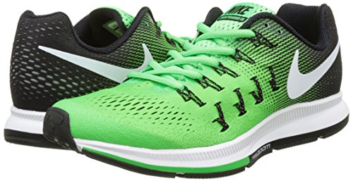 Nike Air Zoom Pegasus 33, Zapatillas de Running Para Hombre Verde (Rage Green / White-Black)