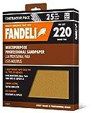 "Fandeli 36027 220 Grit Multipurpose Sandpaper Sheets, 9""  x 11"", 25-Sheet: more info"