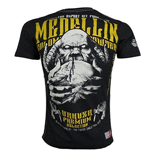 Yakuza Premium T-Shirt 2211 anthrazit