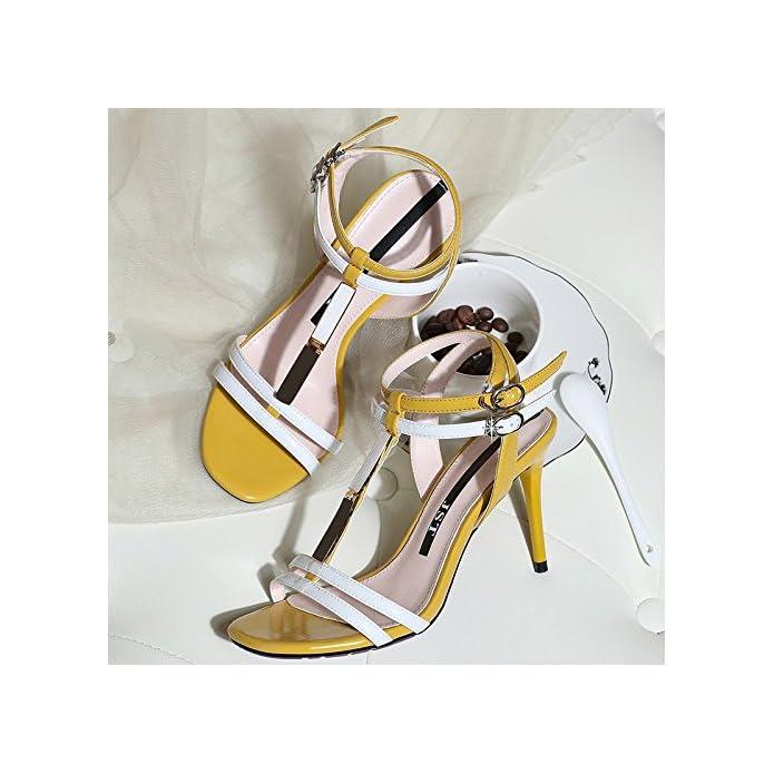 Jqdyl Tacchi Alti Sandali Con Tacco Alto Femminile Fine Scarpe Nuove Estive Da Donna