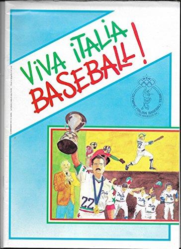 1984 Italian Olympic Baseball Team Souvenir Program And Guide