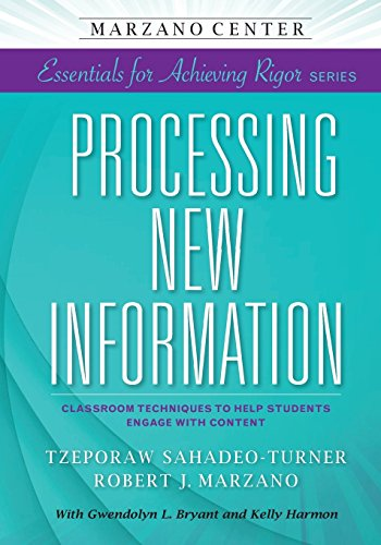 The 1 best processing new information marzano