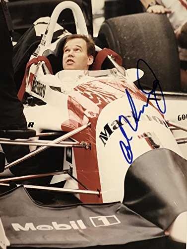 Al Unser Jr. Indy 500 signed Photo 8x10 indy car racing IRL ()