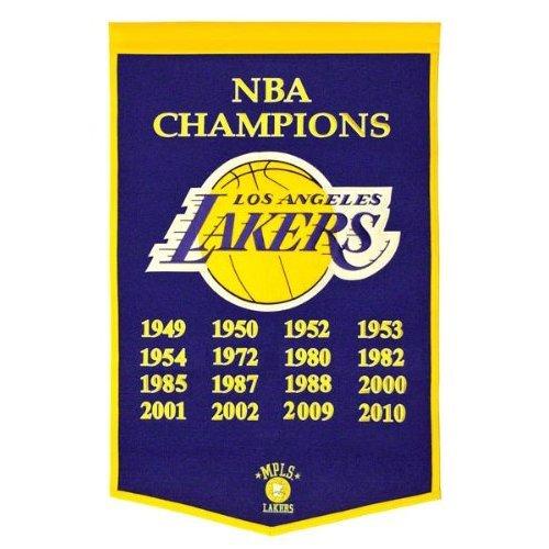 Winning Streak Los Angeles Lakers Dynasty Banner