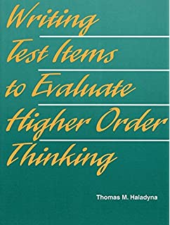 Developing and validating multiple choice test items pdf
