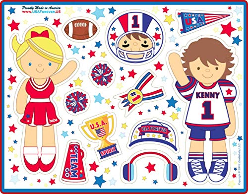 USA Forever All-American Family Magnetic Play Sets & Puzzles Collection by USA Forever (Image #4)