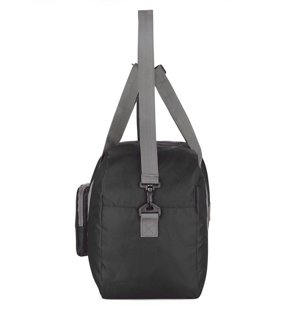 4fd7b1a199c8 Wandf Foldable Travel Duffel Bag Luggage Sports Gym Water Resistant Nylon